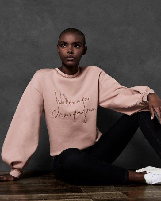 usWomensClothingTops-And-TeesDAYZEI-Champagne-slogan-cotton-sweatshirt-Dusky-PinkWC8W_DAYZEI_DUSKY-PINK_1.jpg